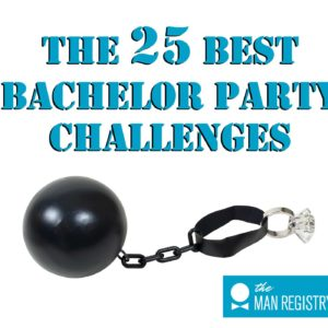 Funny challenges and games for the groom are the best way to make the bachelor party a success!