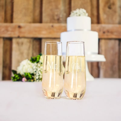 A lovely addition to your wedding day toasts