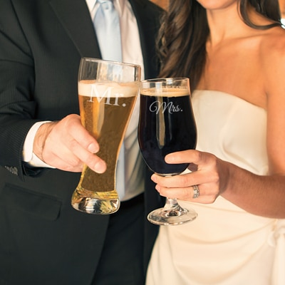 Beer is for lovers and weddings