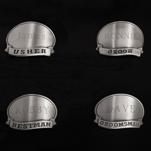 Choose one of these medallions for the shot glass