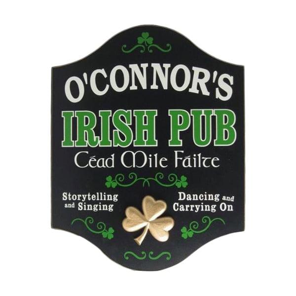 Custom CEAD MILE FAILTE Wooden Irish Pub Sign