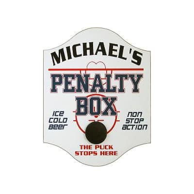 Custom Hockey Penalty Box Sign