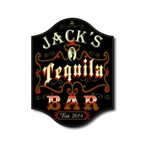 Custom Tequila Bar Sign