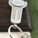 Key ring features a divot repair and removable ballmarker