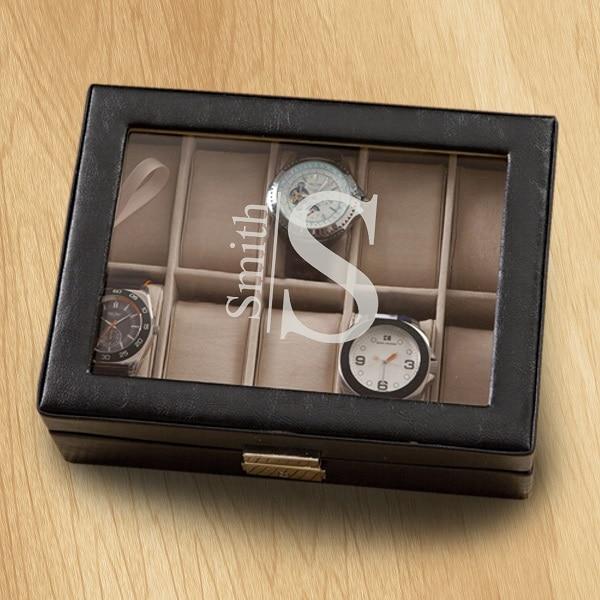 Modern Monogram Design on the GC1400 Men's Watch Case