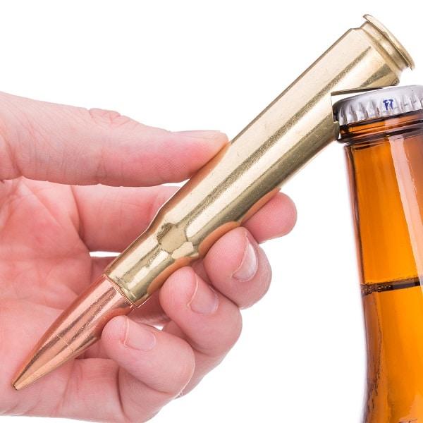 Personalized .50 Caliber Bullet Bottle Opener