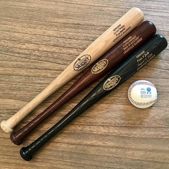 Personalized Louisville Slugger 18″ Mini Baseball Bat