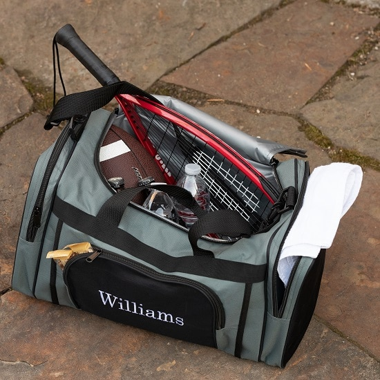 Use this unique men's bag as a cooler, gym bag or travel duffle