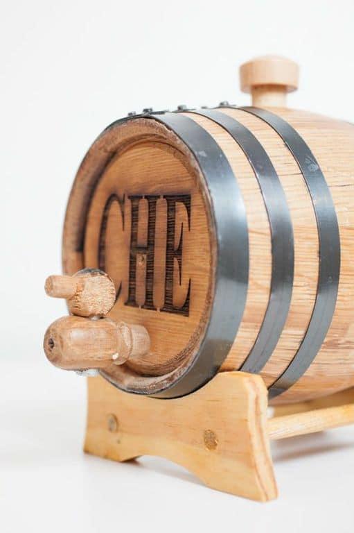 1 Liter Mini Whiskey Barrel with Engraving
