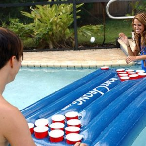 Stay cool with a game of Portopong in the swimming pool.