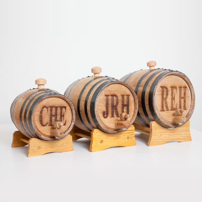 Personalized Mini Bourbon Whiskey Barrel