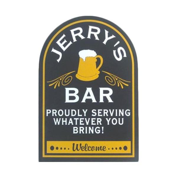 Custom Proudly Serving Pub Sign