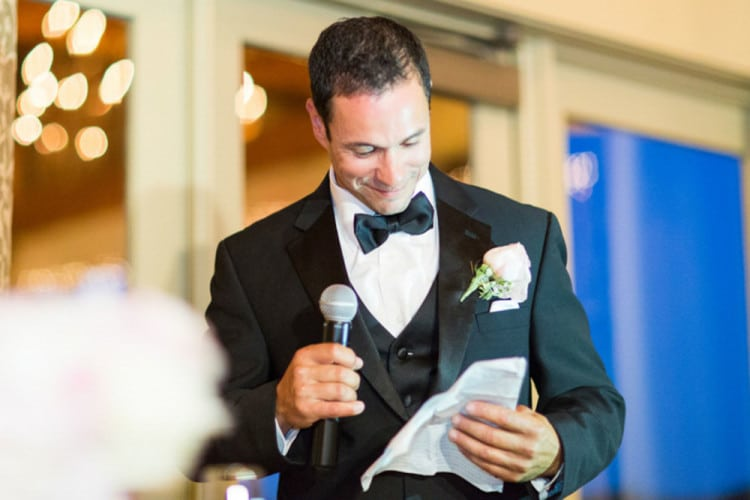 5 Things to Avoid in Your Wedding Speech