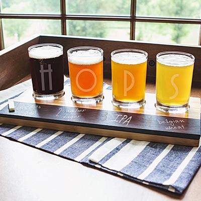HOPS Beer Tasting Flight