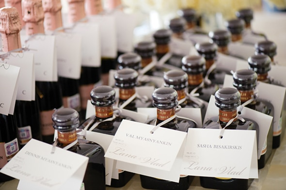 mini liquor wedding favors