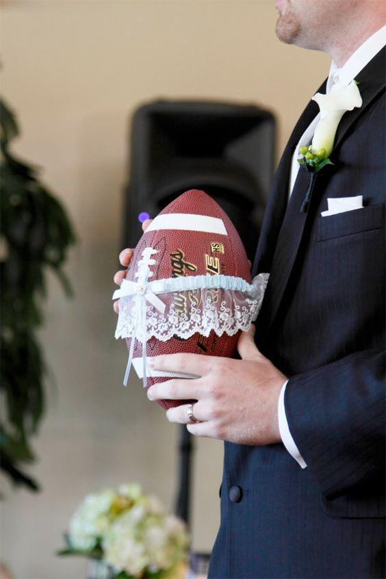 football garter toss