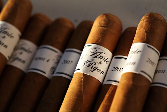 personalized cigar labels