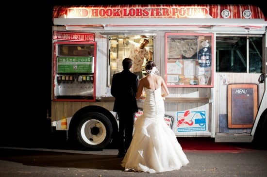 wedding lobster food truck