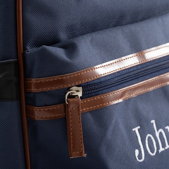 Groomsmen and bridesmaids will enjoy having a backpack cooler customized with their name.