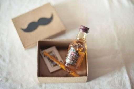 manly wedding favors