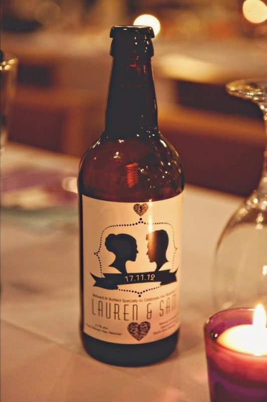 Personalized Wedding Beer Label