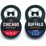 """Champs & Legends"" Hockey City Puck Bottle Openers"