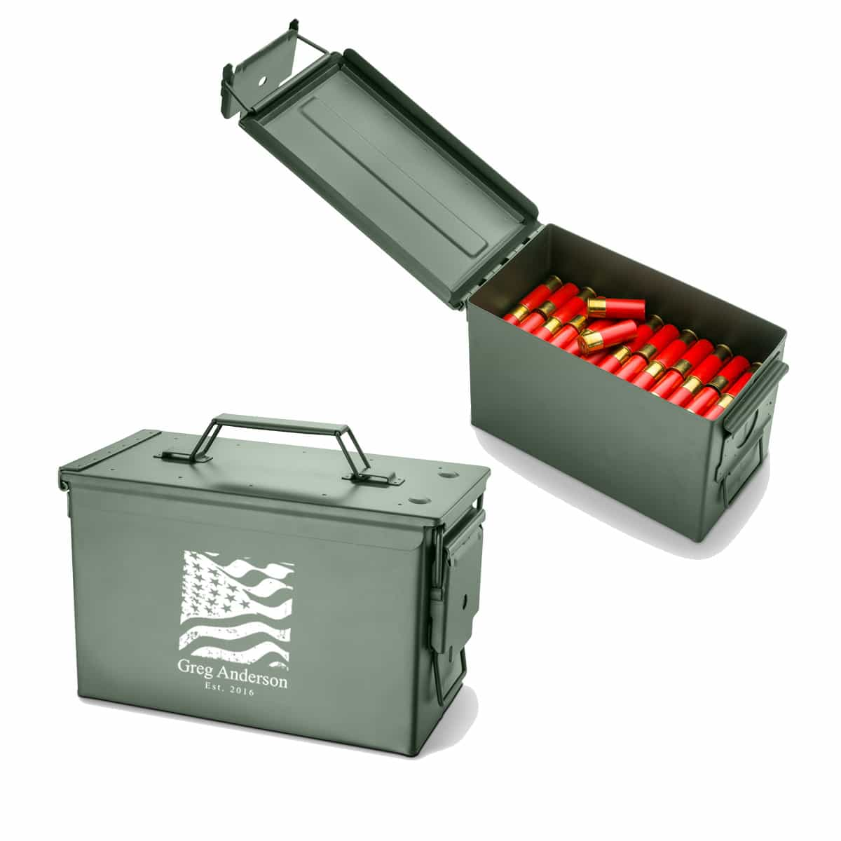 Personalized Metal Ammo Box The Man Registry : gc1409 personalized ammo box from themanregistry.com size 1200 x 1200 jpeg 34kB