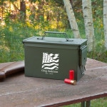 Carry your ammunition out to the shooting range with this customized ammo box.