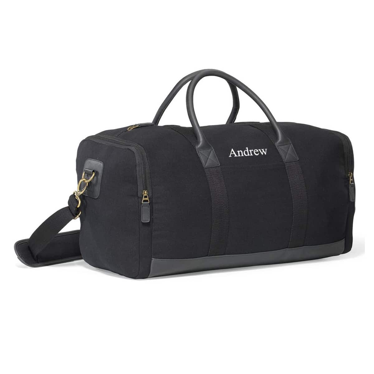The black version of the Heritage Supply Duffel is sleek and will set you apart from everyone else.