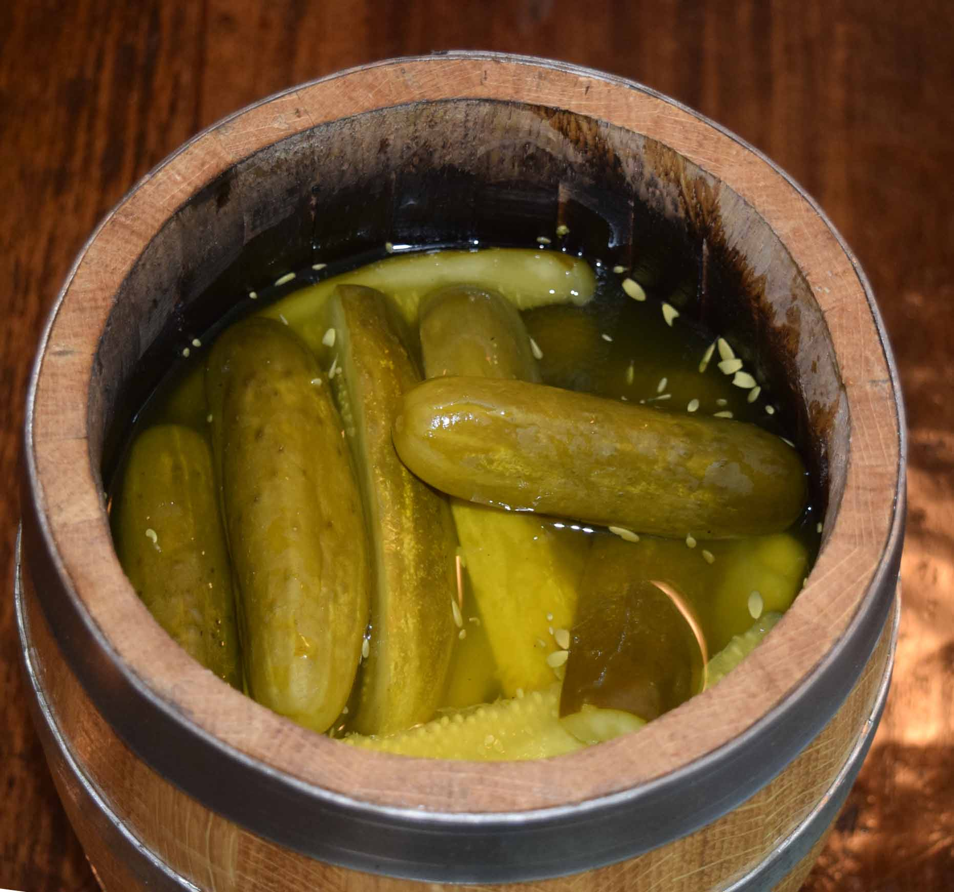 The pickling process is a magical thing!