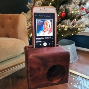 Wooden Cell Phone Speaker