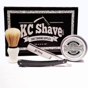 KC Shave Co. Thomas Straight Razor Shaving Set