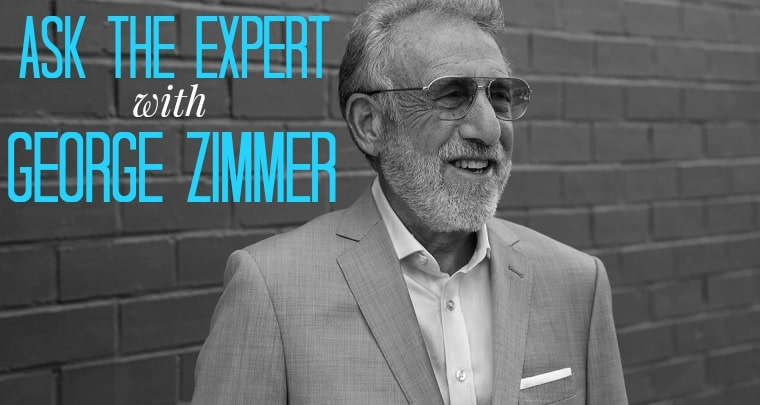George Zimmer joins The Man Registry to share expert advice on men's wedding day suits and tuxes.