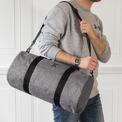 Use the 4042GY duffle for trips to the gym, work or vacation.