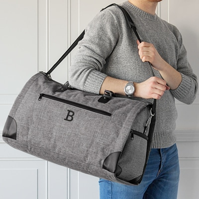 Turn a good bag into a great gift with free embroidery of the recipient's initials.