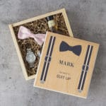 The best groomsmen gift box you'll find on Pinterest.