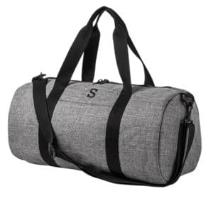 The 4042GY grey duffle bag is ready to be filled with all of your groomsmen and best men's travel essentials.