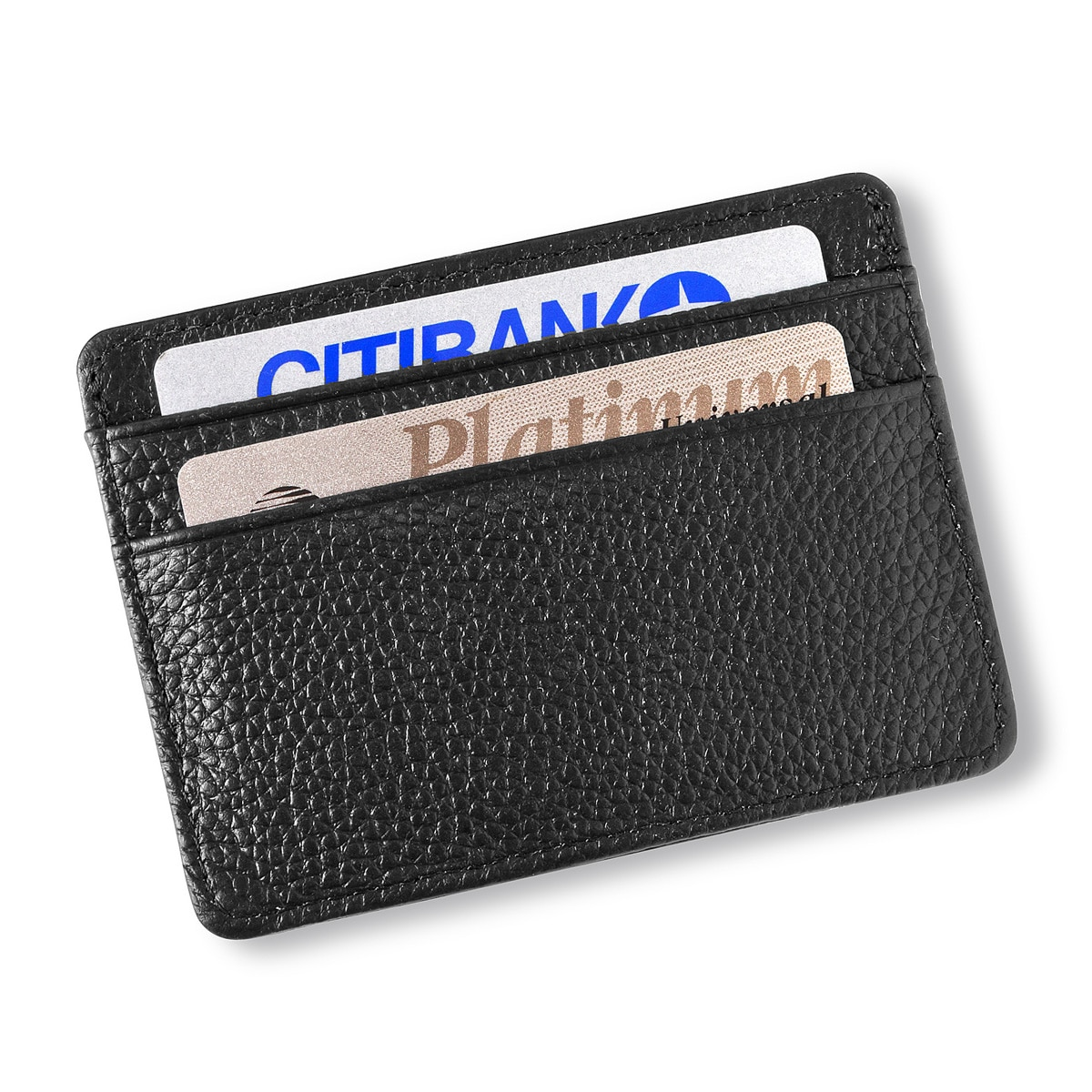 Easily keep track of your credit cards, ids and cash.