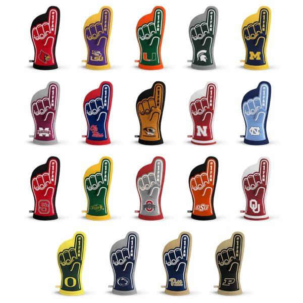 NCAA Team Oven Mitt Designs 2