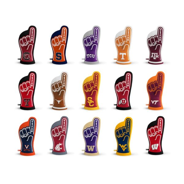 NCAA Team Oven Mitt Designs 3