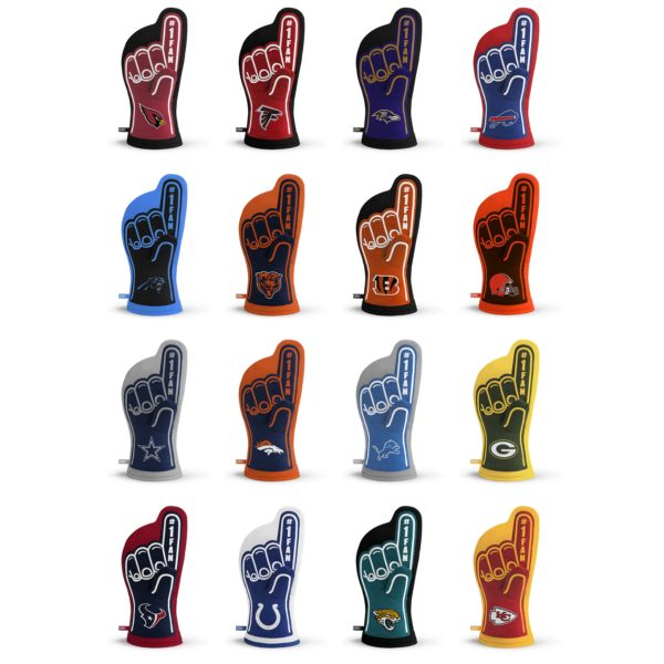 NFL Oven Mitt Team Designs 1