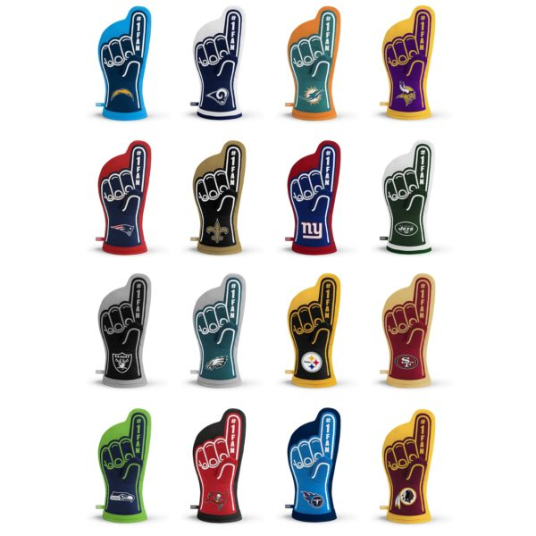 NFL Oven Mitt Team Designs 2