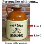 We'll use this guide to personalize your Moonshine Jug