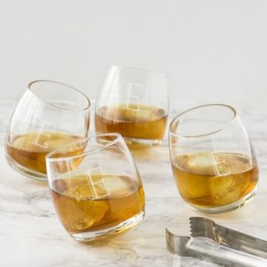 Swiveling Whiskey Glasses (Set of 4)