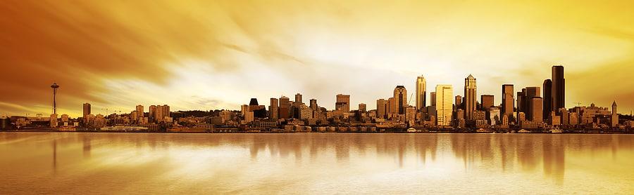 seattle city sky line
