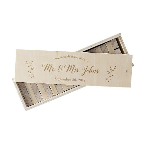 Customize with names, wedding date or last name initial (for free)