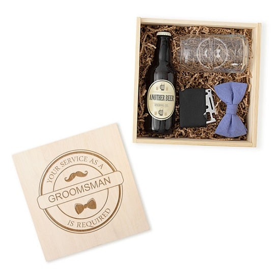 Craft Beer Groomsman Proposal Box