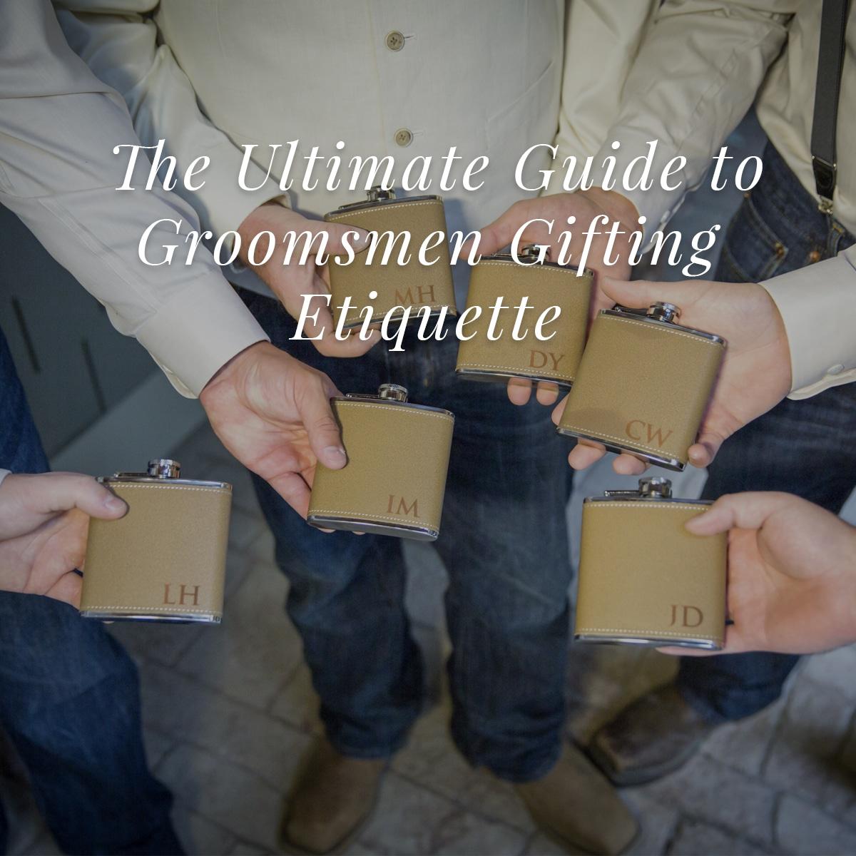 groomsmen gift shopping guide