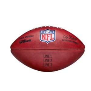 """""""The Duke"""" Official NFL Football Game Ball (Personalized with Your Text)"""