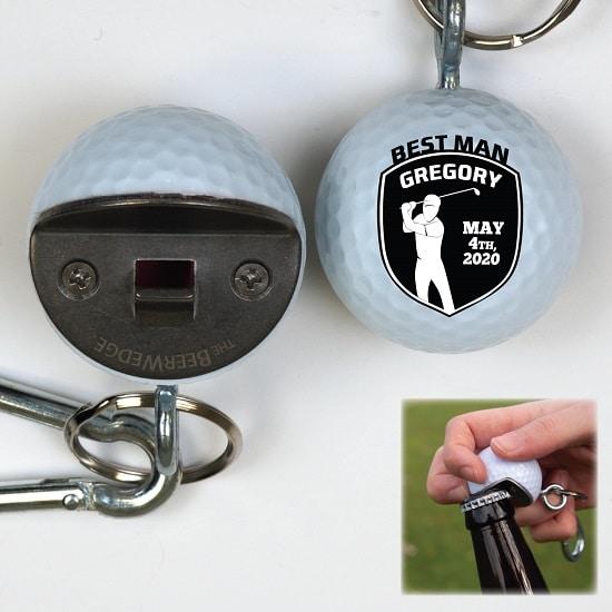 BeerWedge - Golfer Shield Design